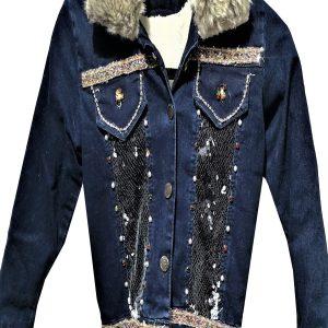 Jeans jasje voor meisjes