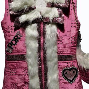 Mouwloos jas voor meisjes