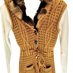 Mouwloos trui+coltrui voor meisjes