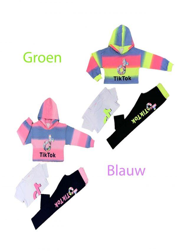 3-delig-tiktok-crop-top -loungewear-set
