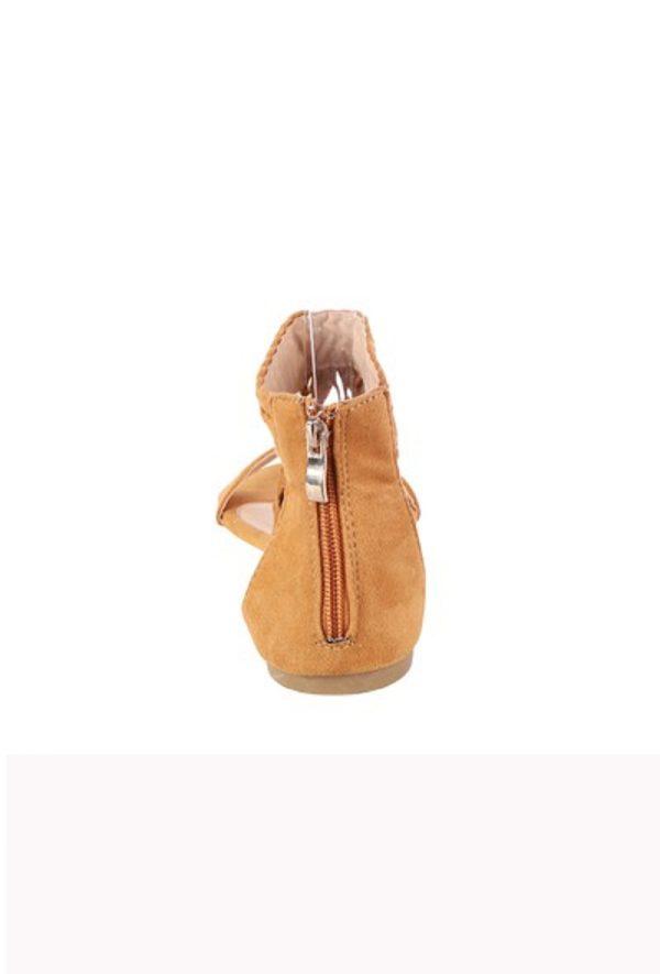 Suède-Fringe-Dames-sandalen-met-enkelbanden
