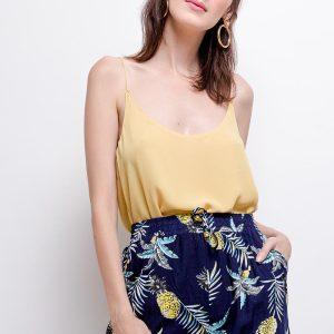 dames short Pineapple print
