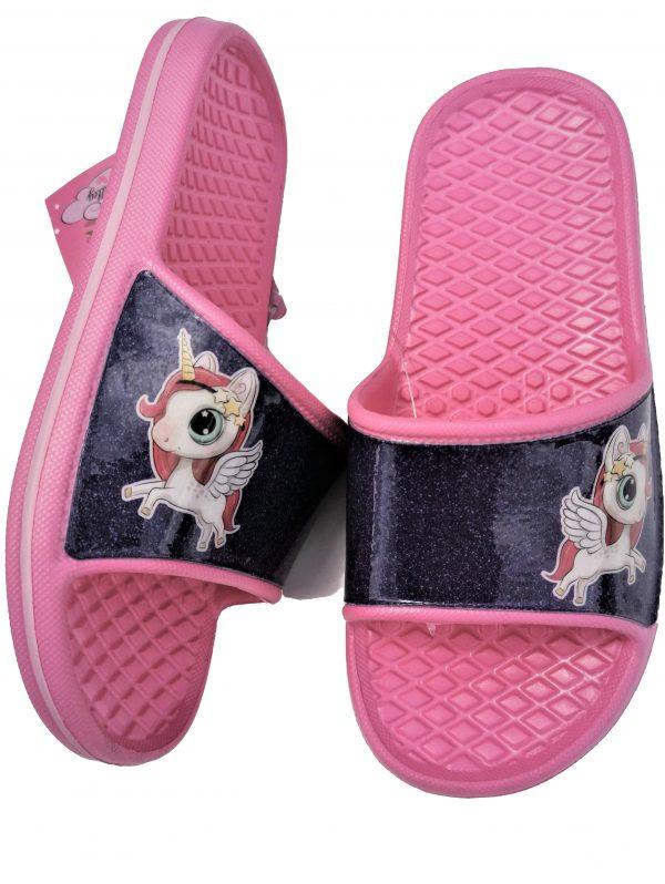 unicorn badslippers voor meisjes