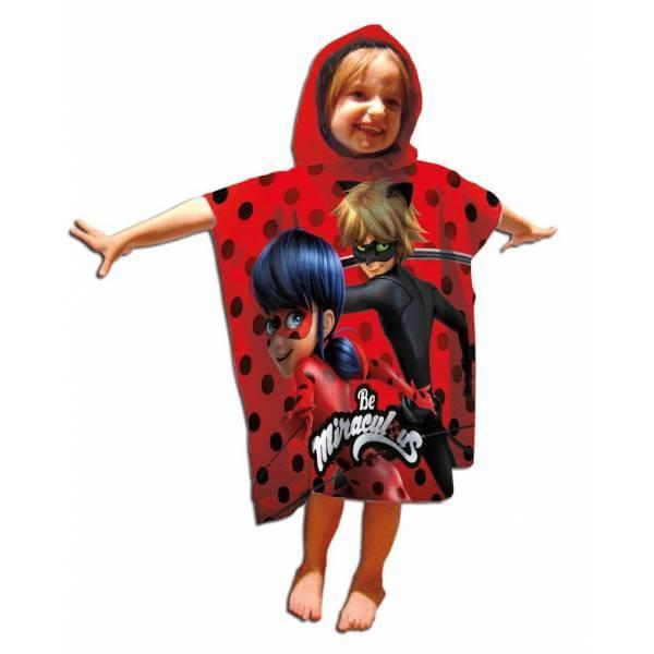 miraculous ladybug poncho